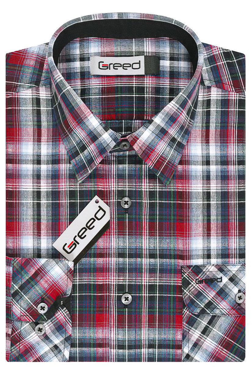 Pánská košile GREED sportovní SD327, dlouhý rukáv