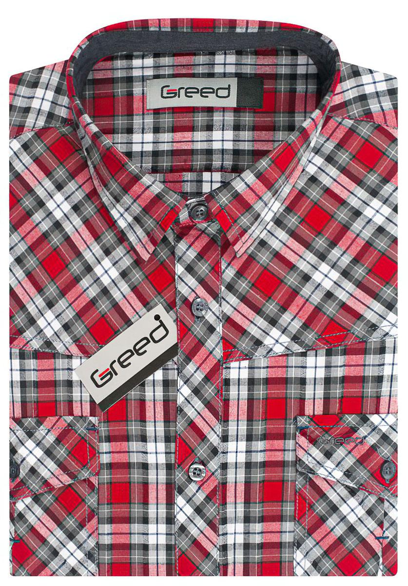 Pánská košile GREED sportovní SKR331 5eba49a81c