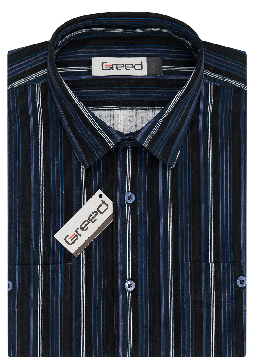 Pánská košile GREED manšestrová 00d807d7ca