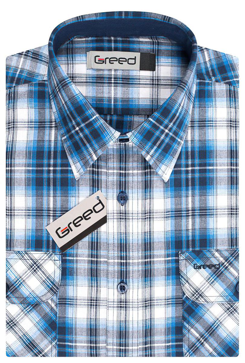 Pánská košile GREED sportovní SK333, krátký rukáv