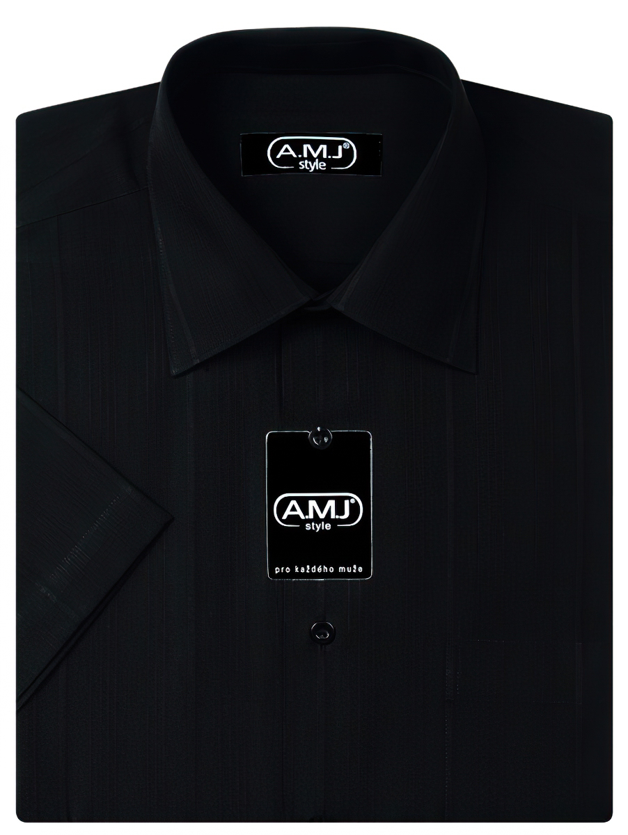 Pánská košile AMJ vzorovaná VK425, krátký rukáv