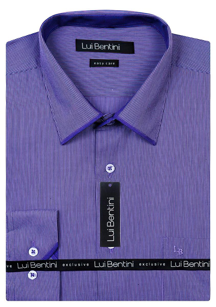 Pánská košile Lui Bentini LD165, dlouhý rukáv
