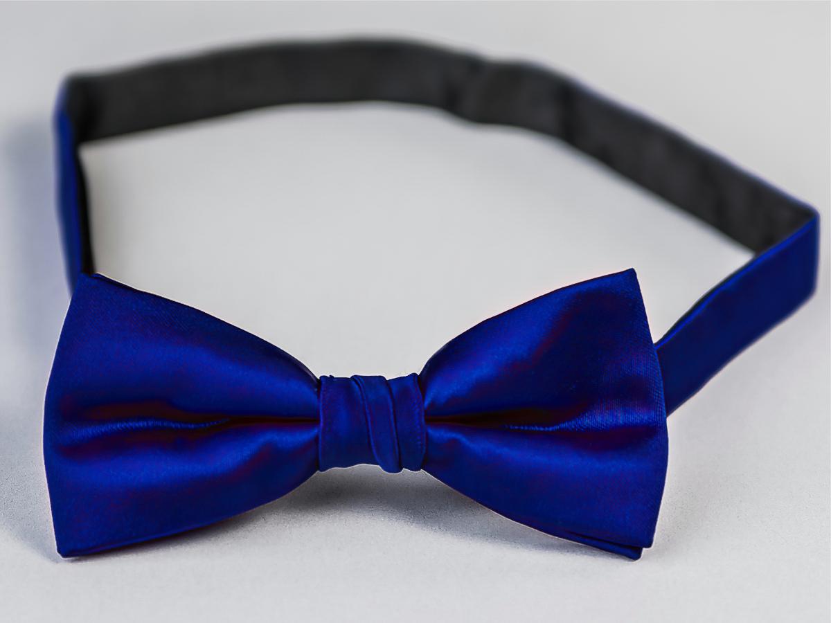 Motýlek pánský AMJ námořnická modrá MP010