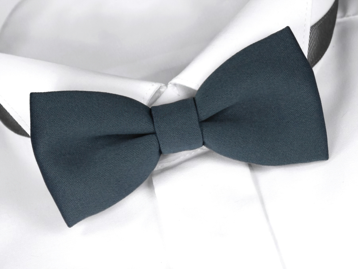 Motýlek pánský HEDVA šedý, SLEVA 80%