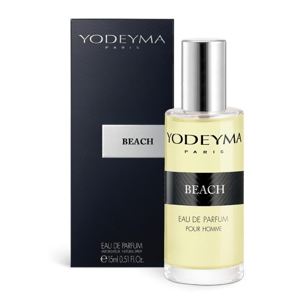 Unisex parfém BEACH Eau de Parfum, aromatický - dřevitý, 15ml