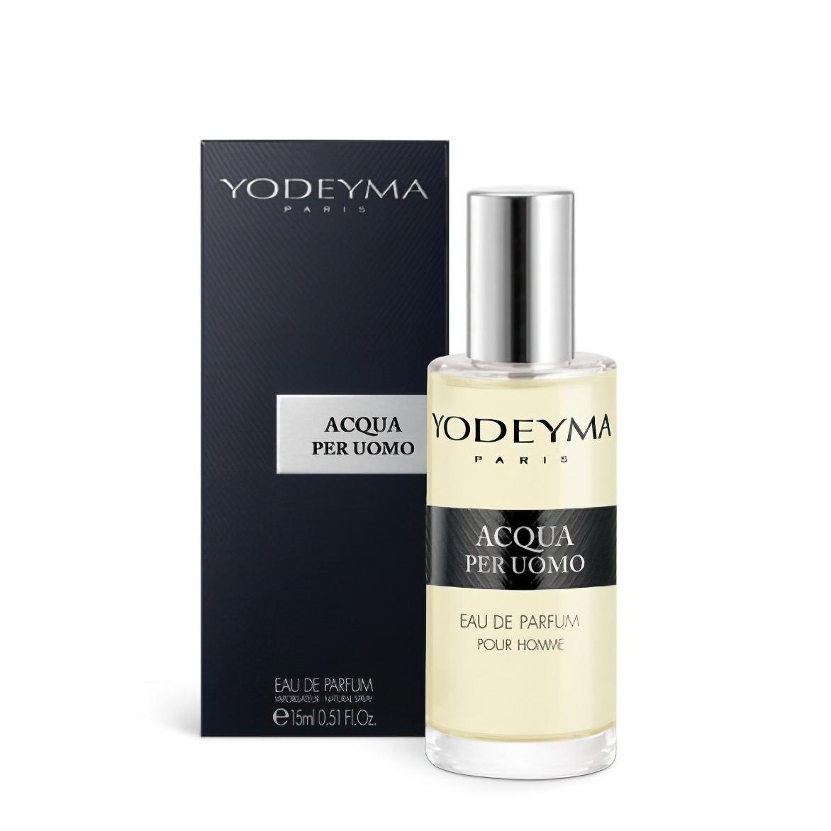 Pánský parfém ACQUA PER UOMO Eau de Parfum, chyprová - svěží, 15m